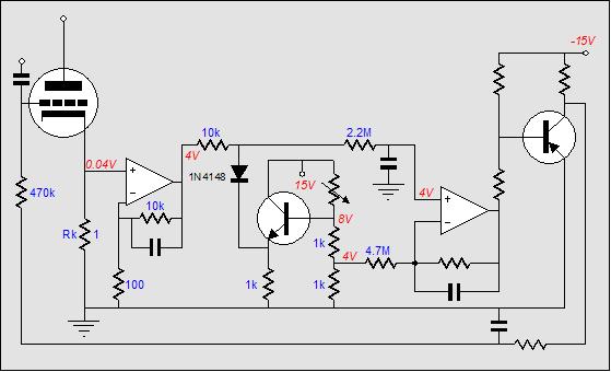 amplifier auto bias circuits  class