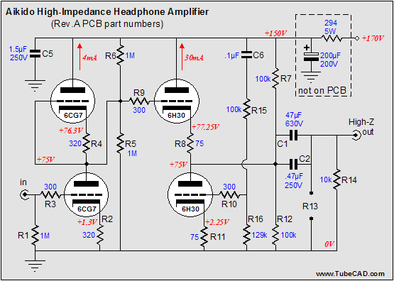 Blog0062 on vacuum tube amplifier design