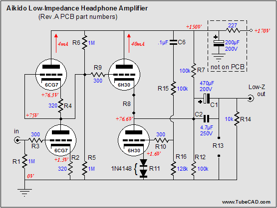 aikido_low_impedance_headphone_amplifier