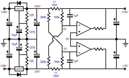 lm317 internal schematic lm324 internal schematic wiring