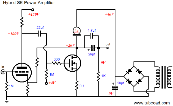 zune and mosfet se power amplifier