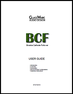 BCF User Guide