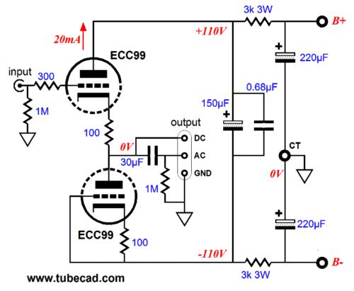 aikido cathode follower 2  u0026 impedance multiplier circuits