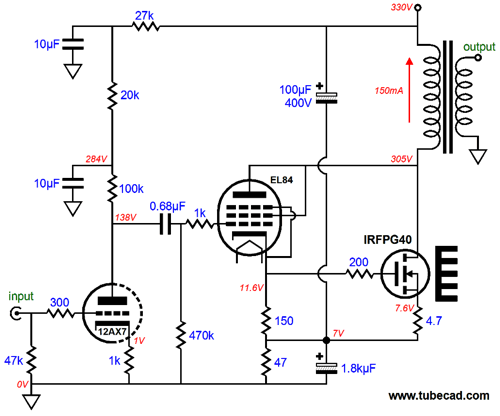 Supercharged Single Endded Output Stages