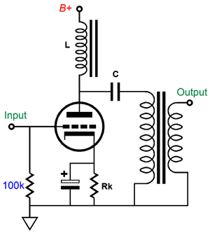 Parafeed Amplifier Topology