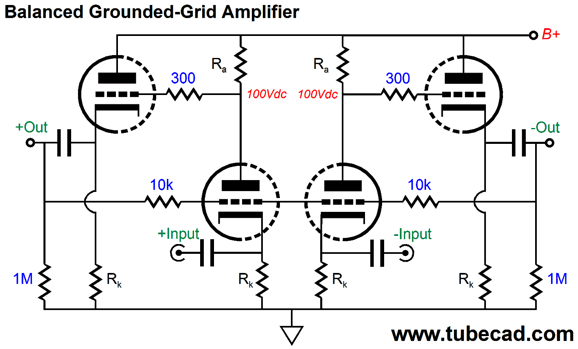 Grounded grid input impedance of patch