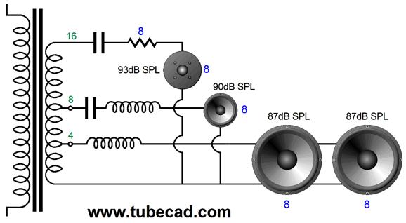 [SCHEMATICS_4NL]  B-Wiring Part Two | Wiring Diagram Output Tramsformer 4 8 16 Ohm |  | Tube CAD Journal